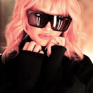 Quay Australia Shade Queen 56mm Shield Sunglasses